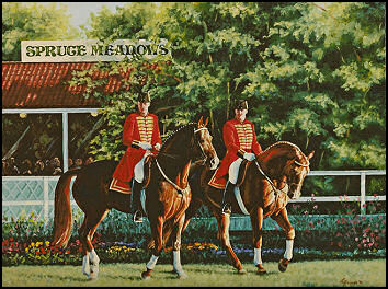 Celle Stallions at Spruce Meadows